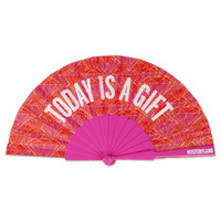 HANDFAN RED/PINK