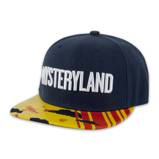 SNAPBACK NAVY/YELLOW/RED