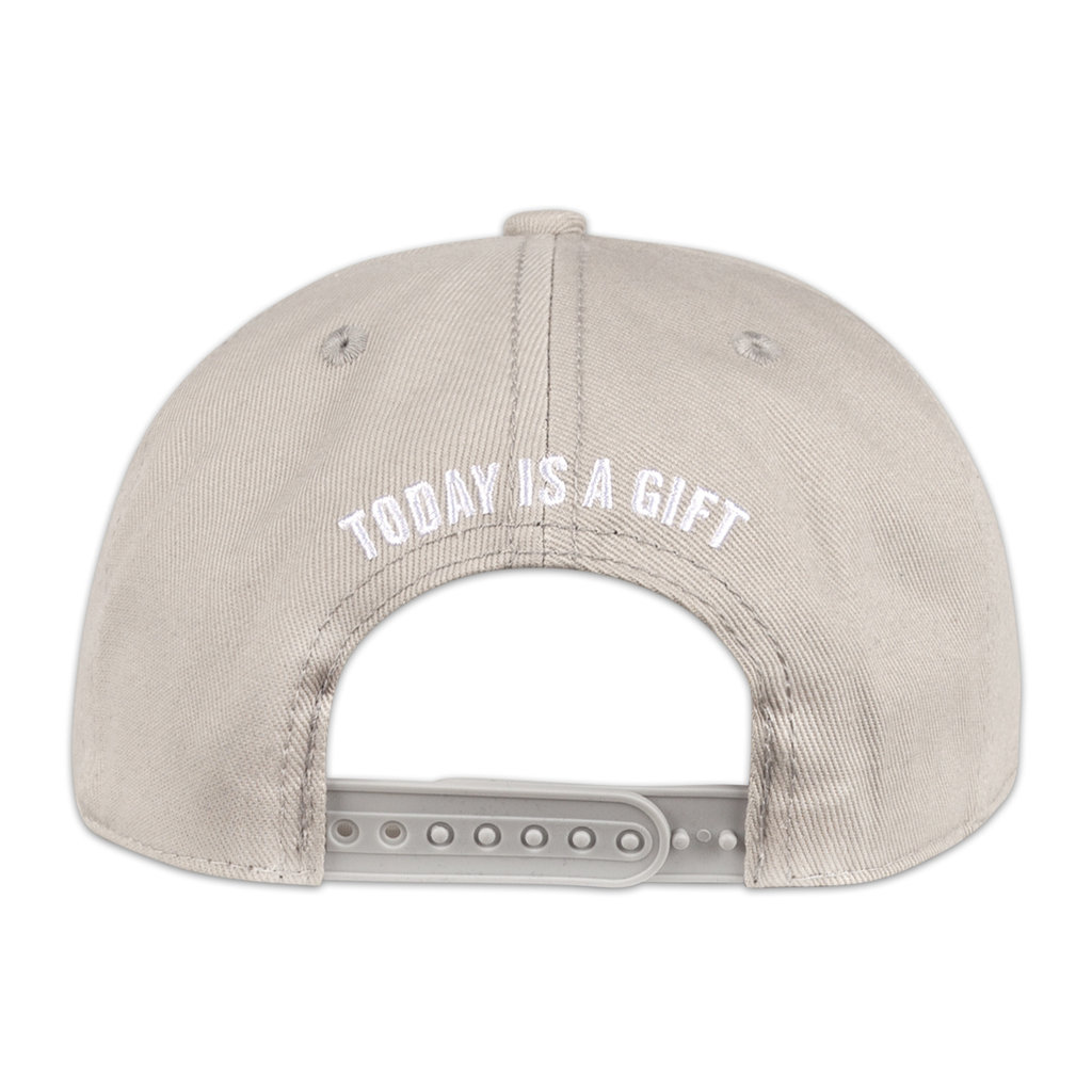 SNAPBACK LIGHT GREY/WHITE