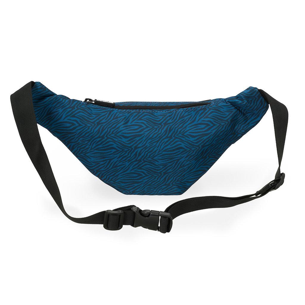 Fanny pack blue/zebra