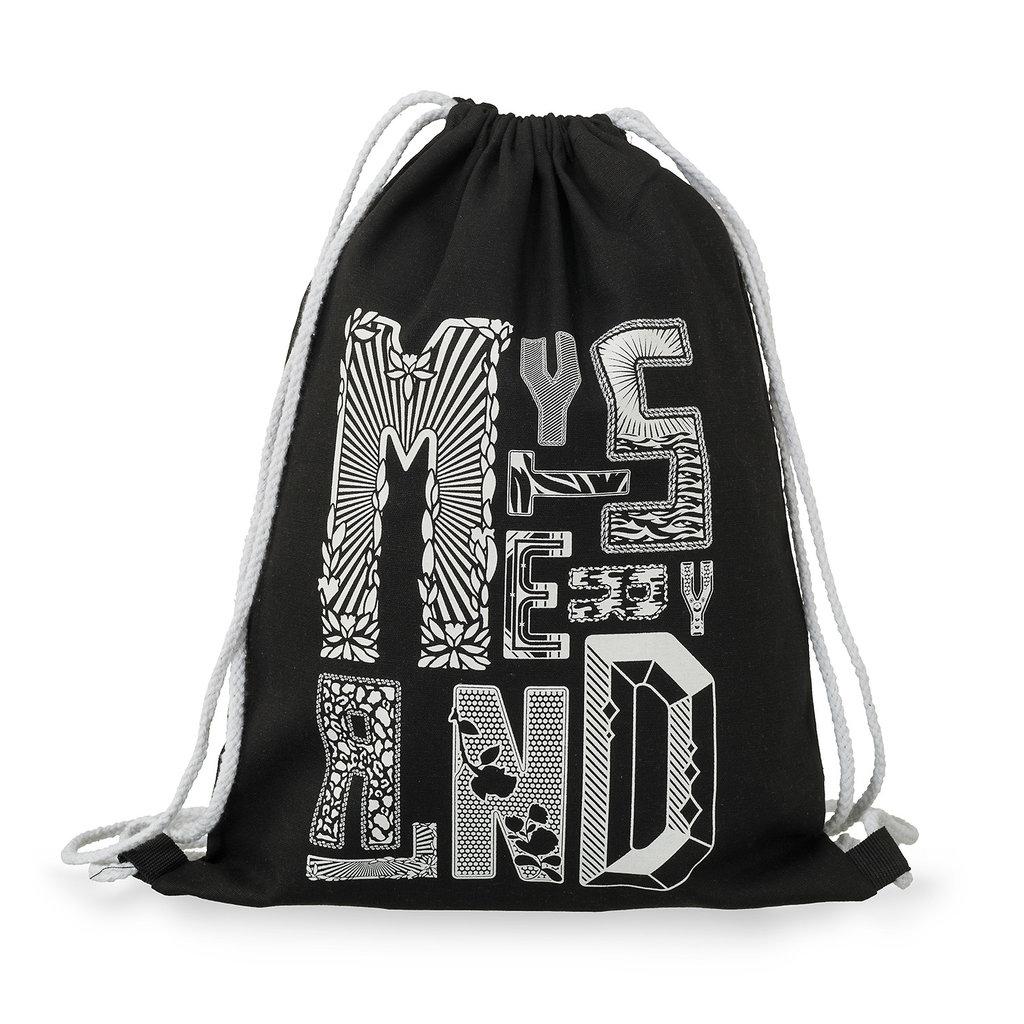 Stringbag black/white