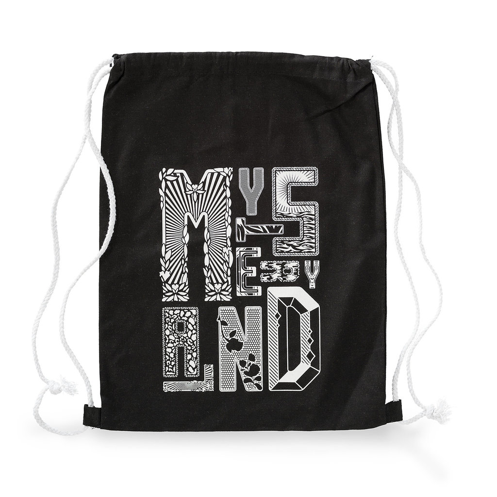 Stringbag black/white