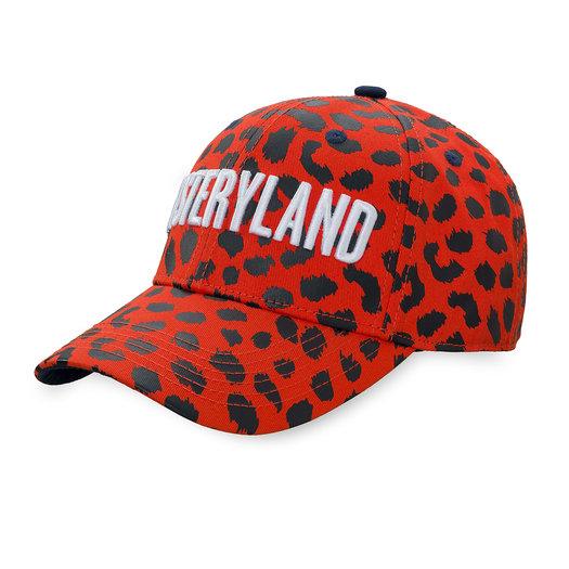 Baseball cap red/leopard