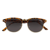 SUNGLASSES BROWN/GOLD