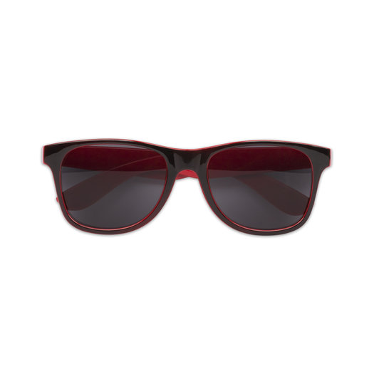 SUNGLASSES BLACK/RED
