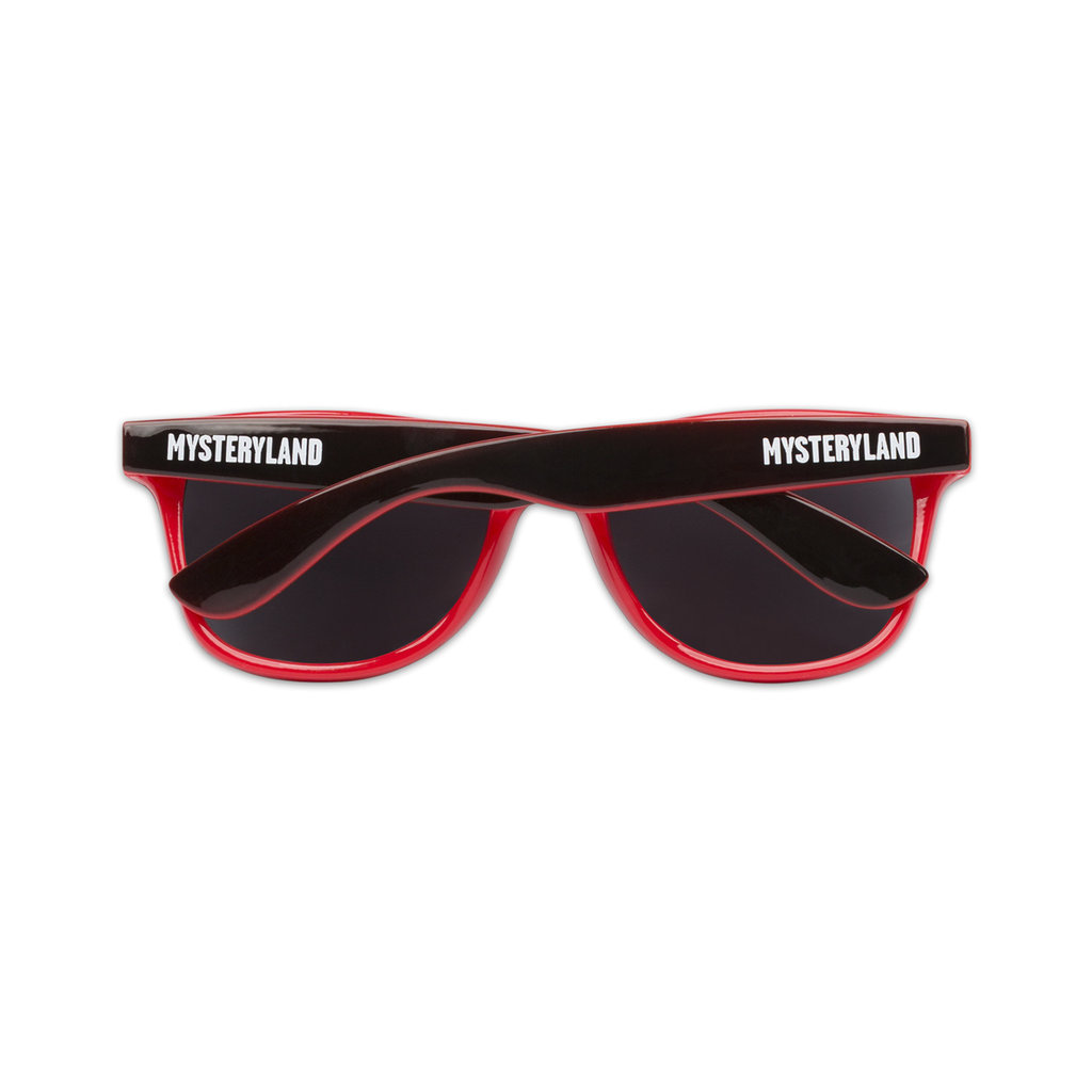 SUNGLASSES BLACK/RED