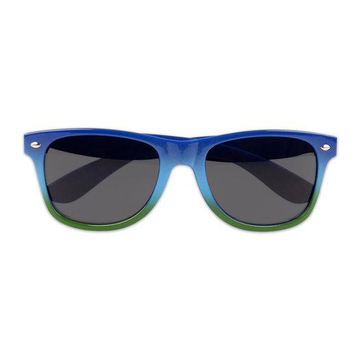 SUNGLASSES GREEN/BLUE GRADIENT