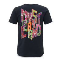 T-SHIRT NAVY/MULTI COLOR