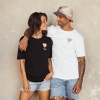 Lets Get High Unisex T-shirt black/neon