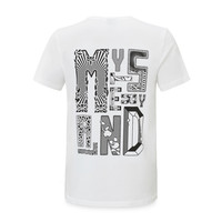 Mysteryland t-shirt white