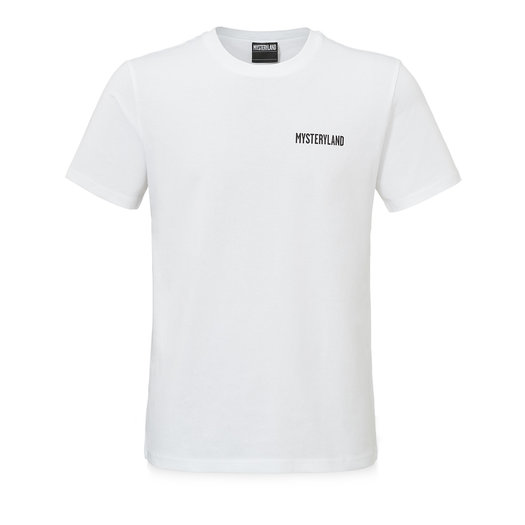 Mysteryland t-shirt white