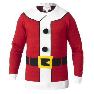 Duke/D555 KS18339 kerst sweater 2XL