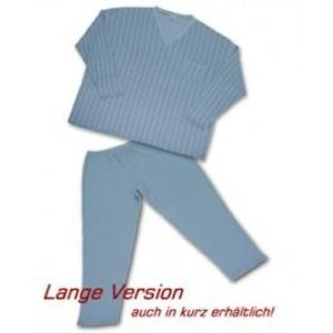 Pyjama Honeymoon blauw 7XL