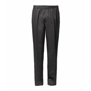 Luigi Morini Elastic pants Amberg gray Size 34