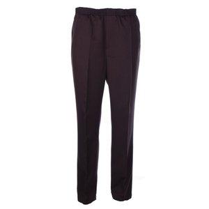 Luigi Morini Elastische broek Amberg donker bruin Maat 32