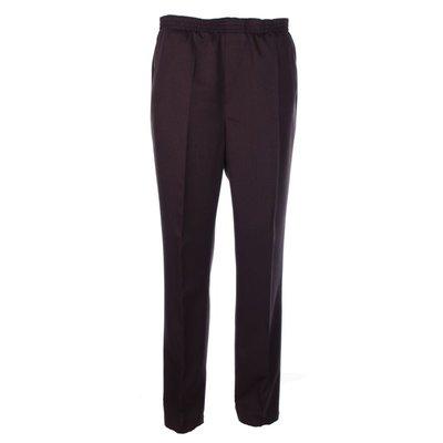 Luigi Morini elastic pants Amberg dark brown size 32
