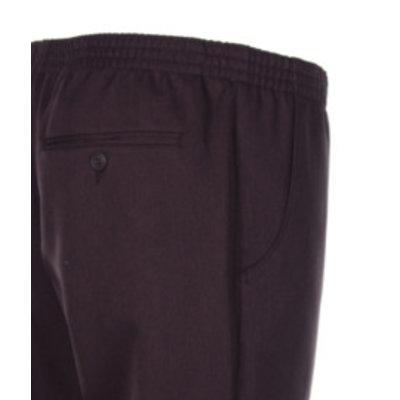 Luigi Morini Elastische broek Amberg donker bruin Maat 33