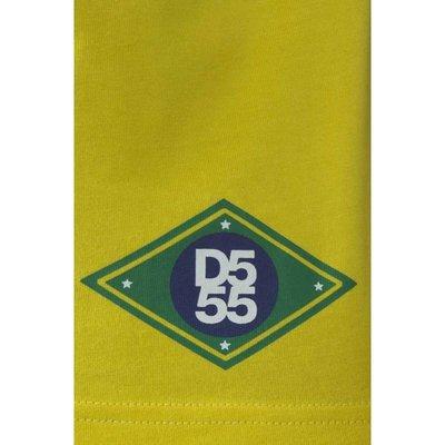 Polo shirt Silva Brazil geel 3XL