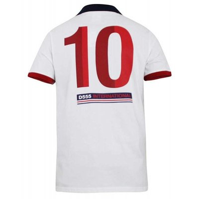 Polo shirt Engeland wit 2XL - Copy