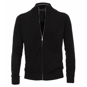 Casa Moda Cardigan jacket 004450/800 Black 5XL