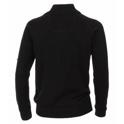 Casa Moda Cardigan vest 004450/800 Zwart 5XL