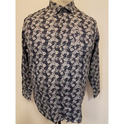 Casa Moda Shirt 483067900/100 Blue 6XL