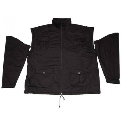 Honeymoon Jacket zip off 6015-99 black 4XL