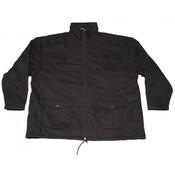 Honeymoon Jacket zip off 6015-99 black 8XL