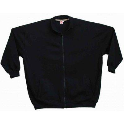 Honeymoon Cardigan vest 1400-99 zwart 7XL