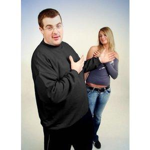 Honeymoon Sweatshirt 1000-90 antraciet 4XL