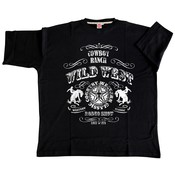 Honeymoon T-shirt Wild West 2058-PR 5XL