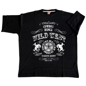 Honeymoon T-shirt Wild West 2058-PR 3XL - Copy - Copy - Copy