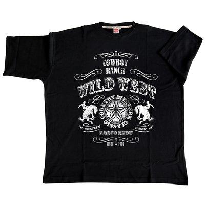 Honeymoon T-shirt Wild West 2058-PR 10XL