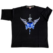 Honeymoon T-shirt Skull 2040-PR 5XL