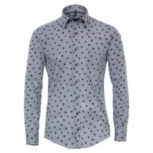 Casa Moda Overhemd 493249700/100 Blauw 6XL
