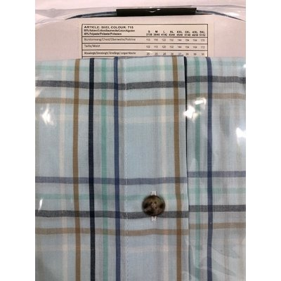 Henderson 5053-715 green striped / blocked 3XL