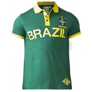 Duke/D555 Polo shirt Silva Brazil groen 2XL - Copy - Copy - Copy