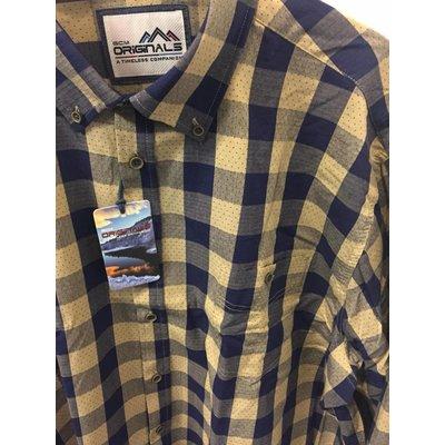 GCM sports Shirt 4008BM Khaki 5XL