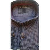 Shirt Hamnett 101756 navy 6XL