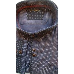 Overhemd Hamnett 101756 navy 6XL