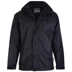 KAM Jeanswear Rain jacket KVS KV01 black 6XL