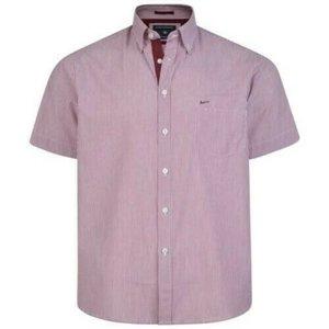 KAM Jeanswear Overhemd KBS6164 rood 2XL