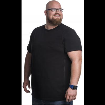 Alca T-shirt black 6XL