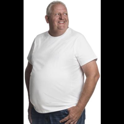 Alca T-shirt white 2XL