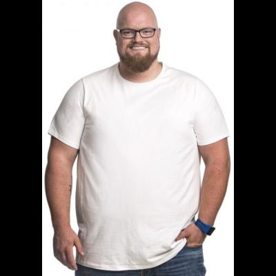 Alca T-shirt white 7XL
