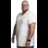 Alca T-shirt white v-neck 2XL