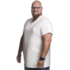 Alca T-shirt white v-neck 3XL