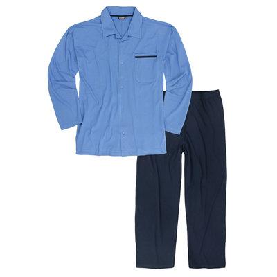 Adamo Pyjama lang 119265/320 7XL