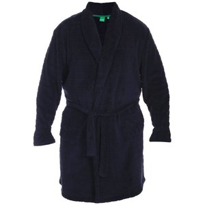 Duke/D555 Bathrobe KS19002 Navy 2XL
