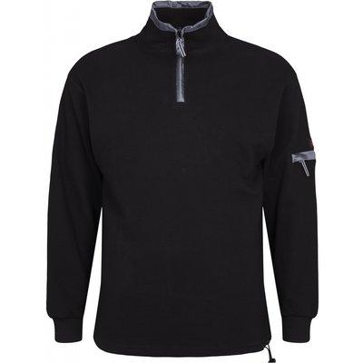 North 56 Sweater zwart 99202/099 8XL